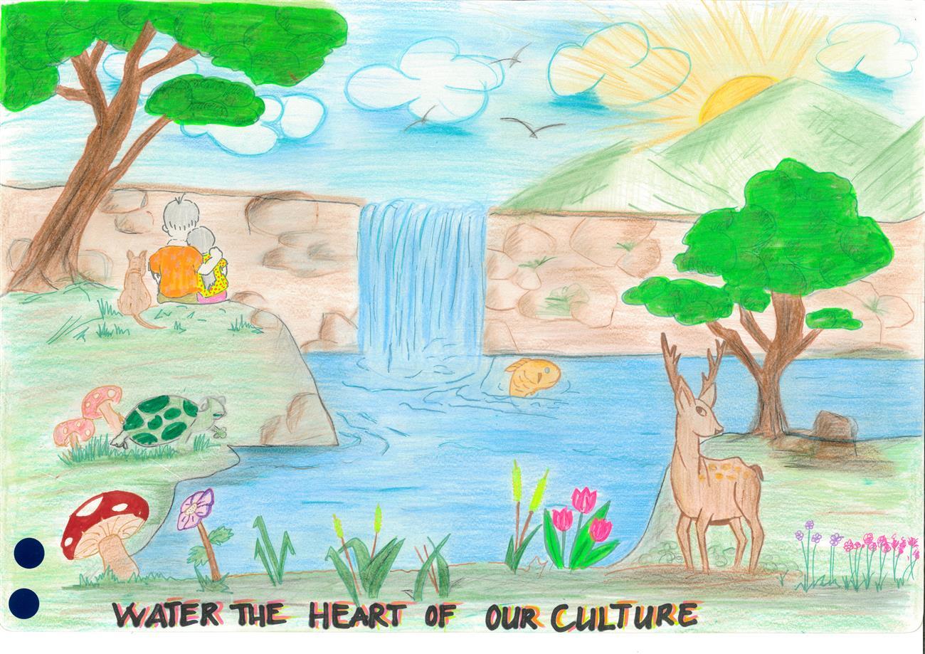 نقاشی صرفه جویی در مصرف سوخت نقاشی خارجی در مورد صرفه جویی در مصرف آب
